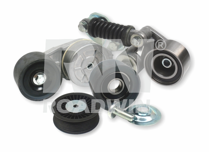 Belt tensioners and rollers